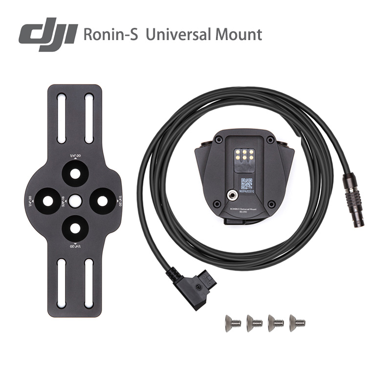 Original DJI Ronin S/SC Universal Mount To Install The Ronin-S To A Carrier With 1/4