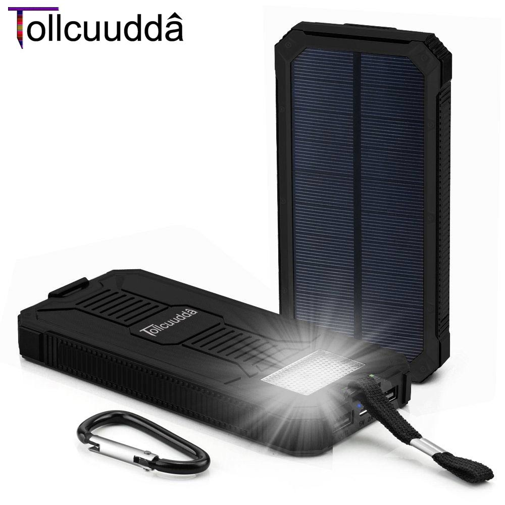 Tollcuudda Fast Phone Charger Battery Solar Panel ...