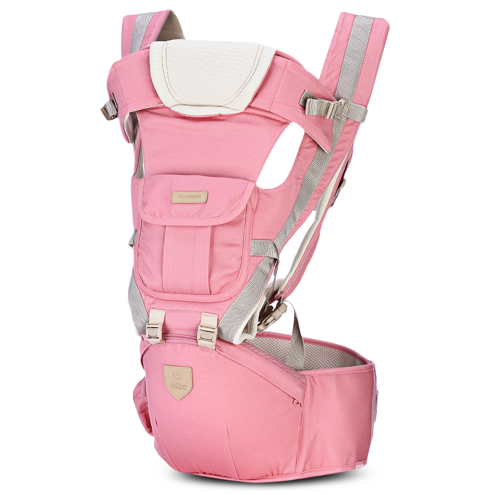 2019 New Style Bethbear 3 In 1 Hipseat Ergonomic Baby Carrier 0-36 Months Buckle Comfortable Mesh Wrap Infant Sling Backpack For Baby Kids Mother & Kids Activity & Gear