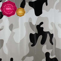Car Styling 10M/20M/30M Truck Body Tree Leaves Decal Snow White Camo Vinyl Film Wrap Air Bubble PVC Stickers Bomb Camouflage #14