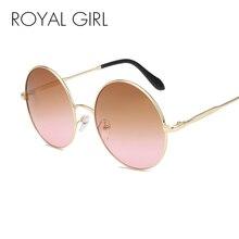 ROYAL GIRL Round Lens Brand Design Sunglasses Women Cool Sun Glasses Summer Style Feminino Gafas De Sol UV400 ss227