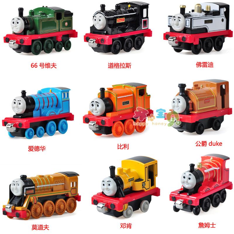 thomas the train thomas toys thomas toy magnetic alloy train head alloy car models in diecasts. Black Bedroom Furniture Sets. Home Design Ideas