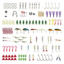 73/101/132/232Pcs Fishing Lures Set Mixed Minnow Piler Spoon Hooks Fish Lure Kit In Box Isca Artificial Bait Fishing Gear Pesca