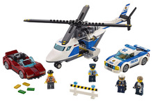 LEPIN City Police High-Speed Chase Building Blocks Sets Bricks Kids Model Kids Toys Marvel Compatible Legoe