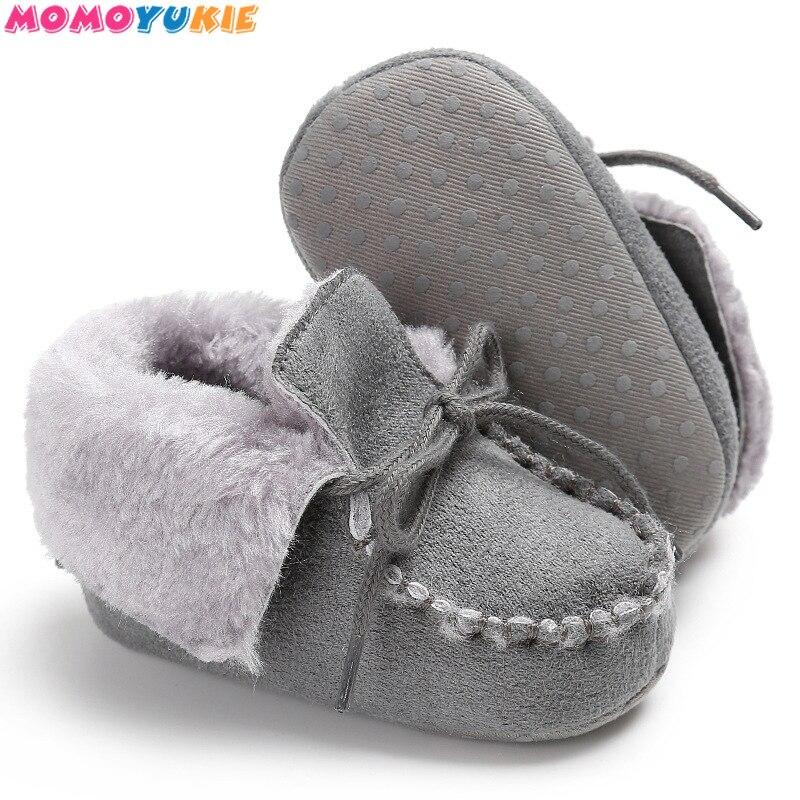 inverno sapatos de bebe botas criancas quentes sapatos de pele de la meninas do bebe botas