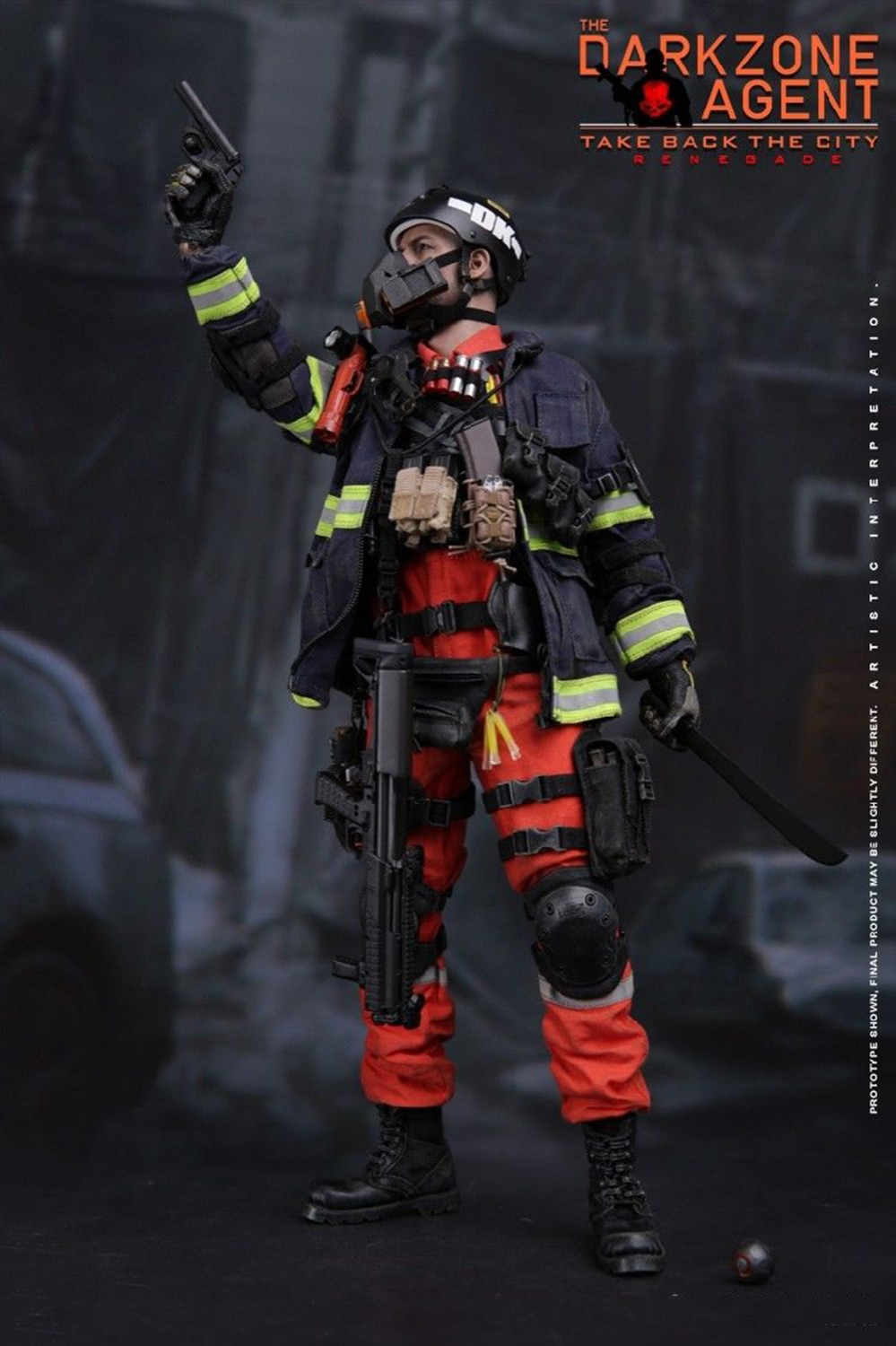 1/6 VM-018 Full Set Toy Gift Solider The Darkzone Agent Collection Doll 1