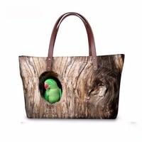 Noisydesigns women bird cute funny Designer handbags Daily Use Girls Ladies Cross Body Bags Travel Shopping Bag Bolsa Feminina