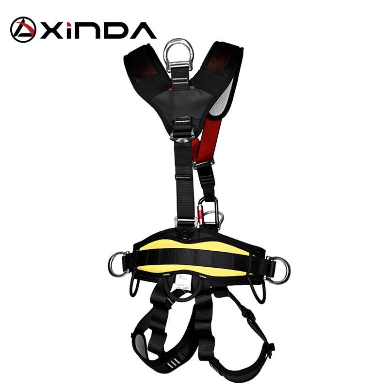 XINDA harnais d'escalade professionnel ceinture de sécurité complète Anti-chute équipement de protection d'altitude - 3