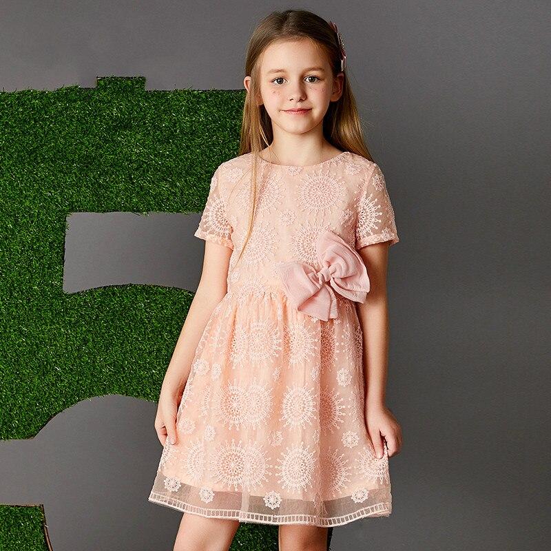 Children's dress princess girl's short sleeved Eugen yarn 2018 new host birthday party eugen trapp welterbe regensburg