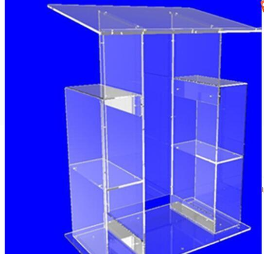 modern acrylic lectern podium pulpit transparent lectern pulpit modern   decoration table furniture minister's desk