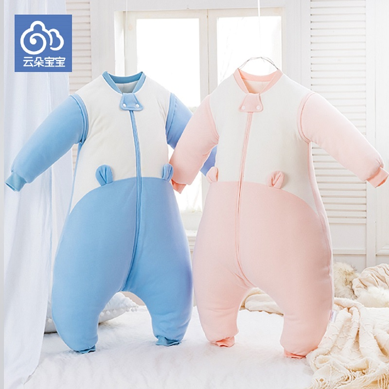 Children in autumn and winter barhop thick warm sleeping bag for infant baby 0-1-3 years old can turn urine cotton anti kick was chinese calligraphy copybook pen pencil practice book pin yin pinyin chinese characters learning book for children