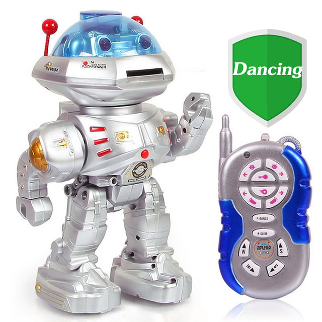 RC Intelligent Robot Toy 360 Rotating Dancing Robot Musical Walking Electronic Toy Robot For Children Christmas Gift Toys TY15