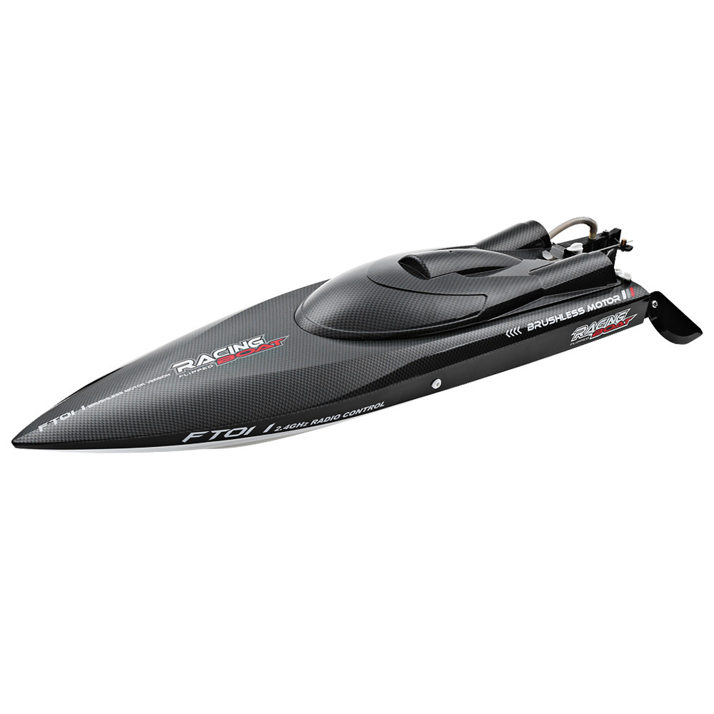 FT011 RC Boat 2.4G High Speed Brushless Motor Built-In Water Cooling System Remote Control Racing Speedboat RC Toys Gift