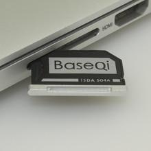 BASEQI Aluminum MiniDrive Micro SD Card Adapter Memory Card Reader For Macbook Pro Retina 15'' Late 2013/After Model 504A