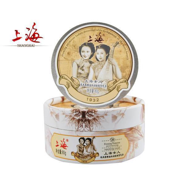 Face Care Shanghai Evening Primrose Ladies Dressing Moisturizing Anti-Wrinkle Whitening Nourishing Beauty Skin Care Cream