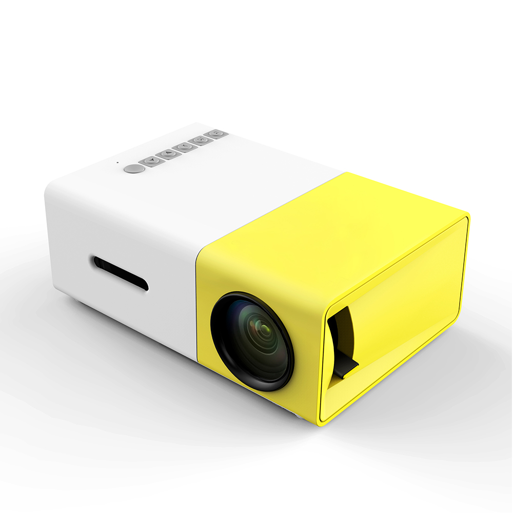 Hd mini home projectors mobile phone micro portable for Miniature projector