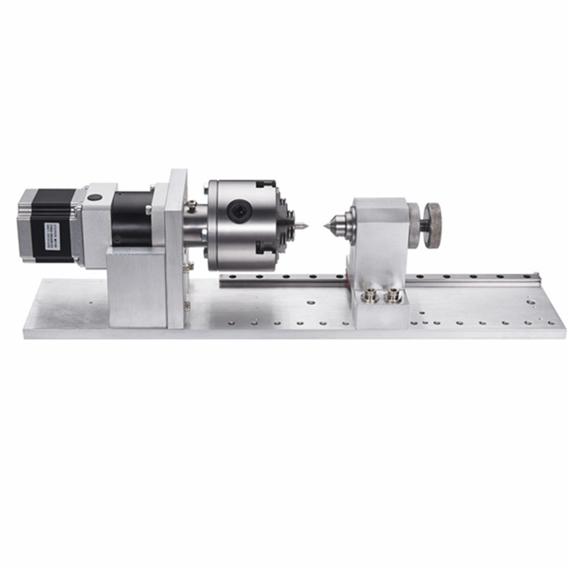 Nema23 57mm Stepper Moter 4th Rotary Axis Gapless For Cnc Router Machine