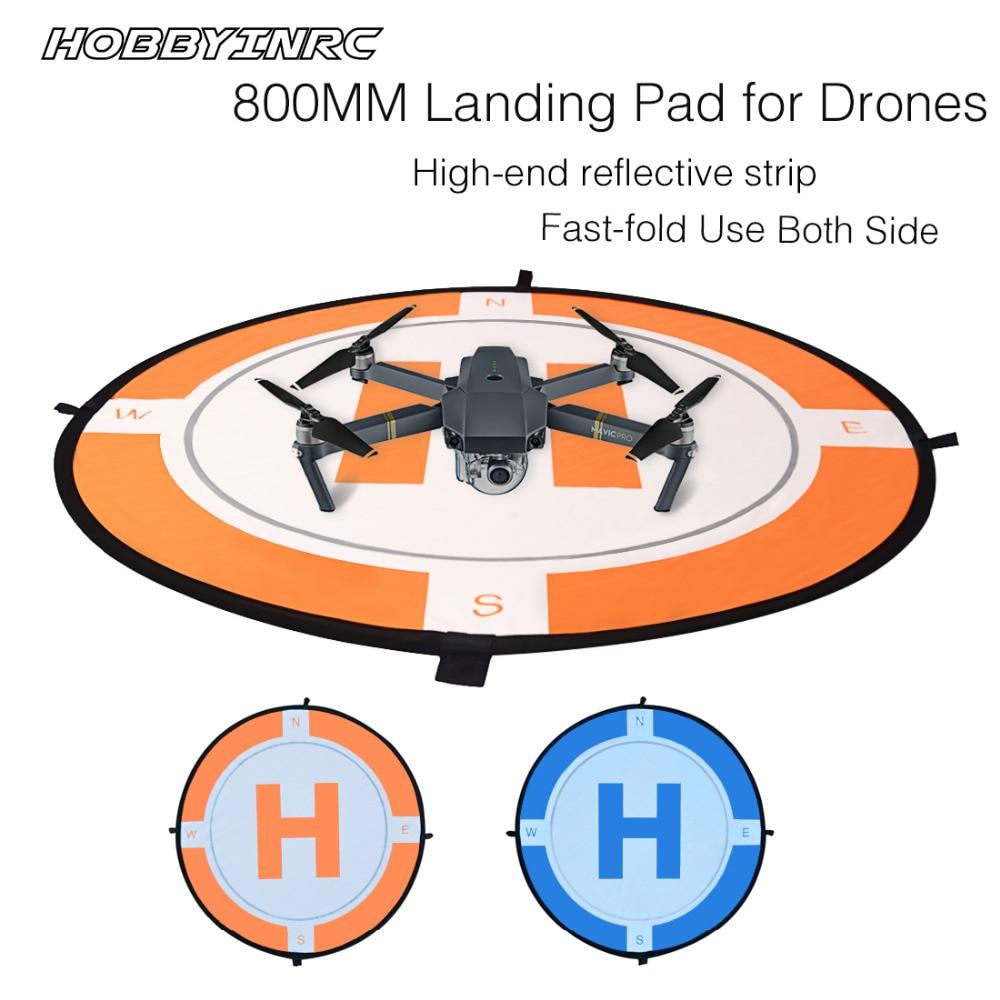 HOBBYINRC 80CM Universal Portable Landing Pad Fast-fold RC Drone Parking Apron for DJI Mavic Pro Spark Phantom2 3 4 inspire