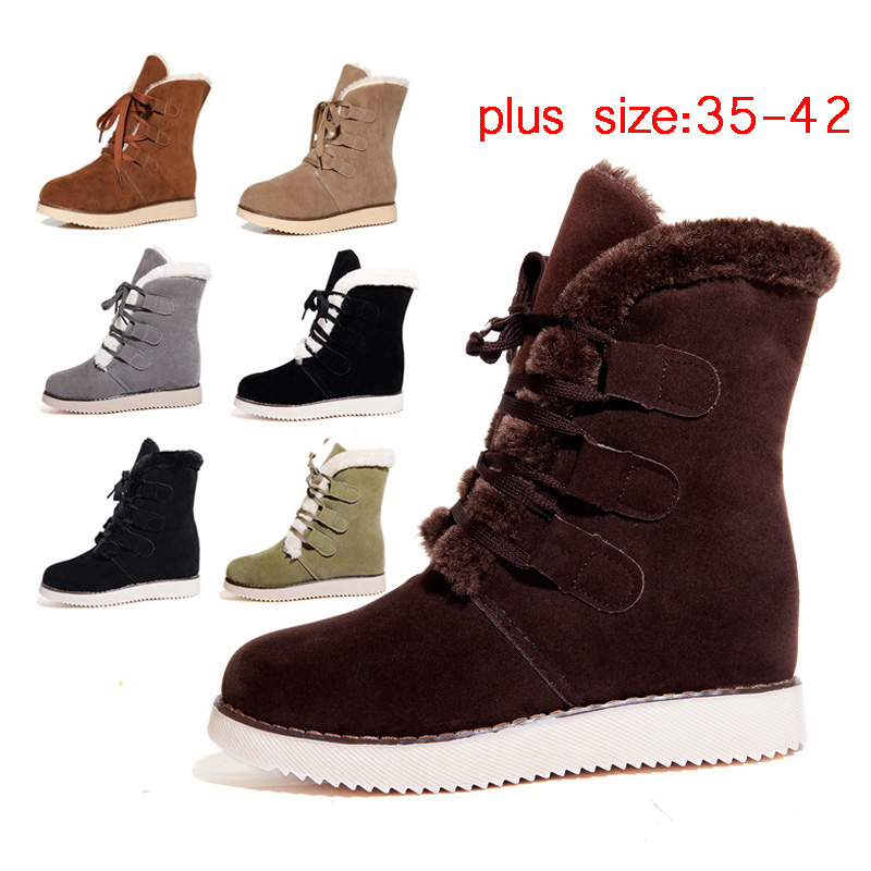 Aliexpress.com : Buy Fashion Women Boots Snow Botas Mujer ...