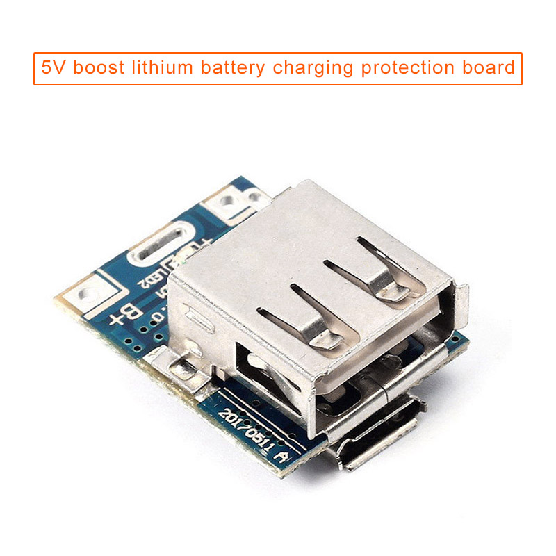 1pc Step-Up Power Module Battery Charging Protective Board Booster Converter DIY Charger 5V EM88