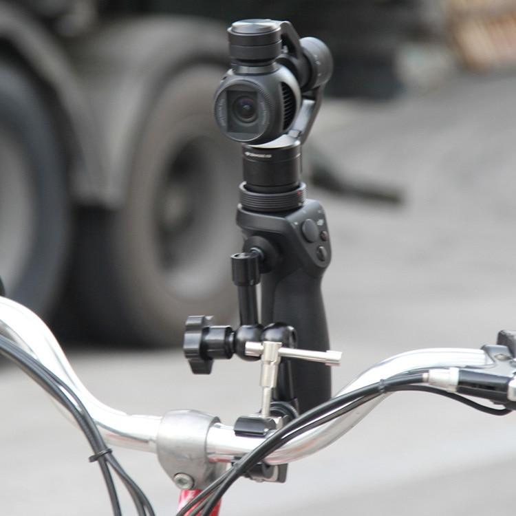 ФОТО bicycle bike mount clamp holder bracket stand fr dji osmo handheld gimble camera
