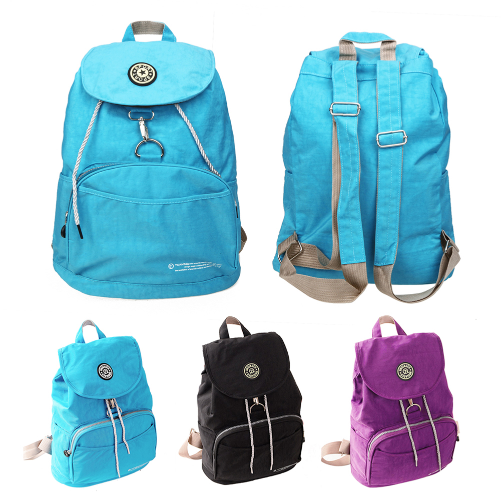 New 2017 Women Backpack Waterproof Nylon 10 Colors Lady Women s Backpacks Female Casual Travel bag