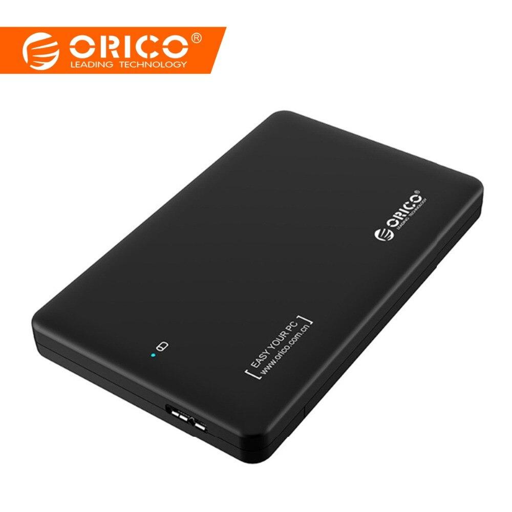 ORICO 2,5 pulgadas hdd caso sata a usb 3,0 caso HDD SSD adaptador para Samsung Seagate SSD hdd carcasa duro disco de caja externa