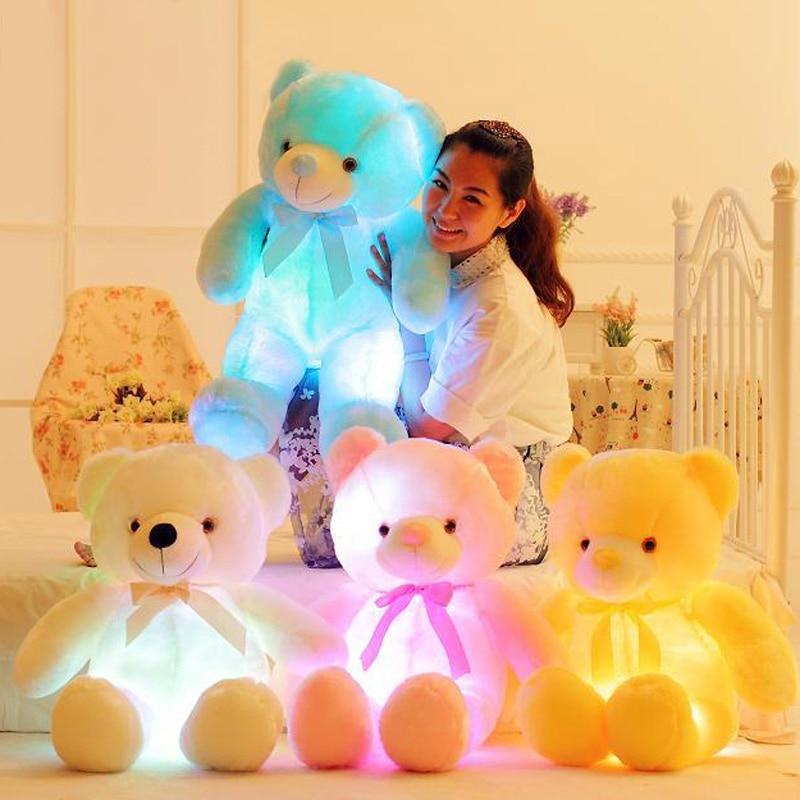QWZ 50cm creativo Light Up LED oso de peluche animales de peluche - Peluches y felpa - foto 2