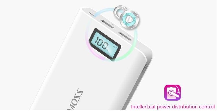 Original Romoss Sense 6 Plus Dual USB 20000mAh 18650 Power Bank 5