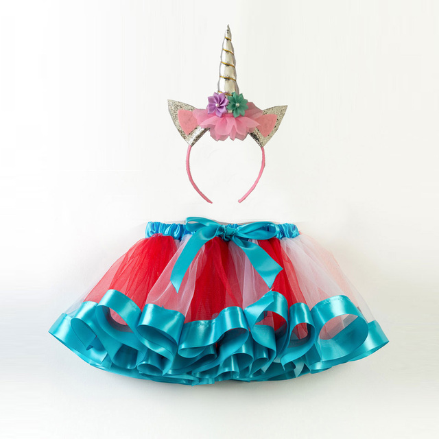 a5c4bc68964d Fashion Sweet Toddler Kids Baby Girls Clothes Tutu Skirt Outfits Summer  Cute Children Tulle Skirt + ...