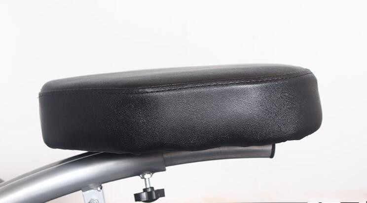 Güçlü Lüks Taşınabilir Masaj Koltuğu-Hafif, Katlanabilir Dövme Spa Masaj Koltuğu ile tekerlekler Modern güzellik salonu mobilyası