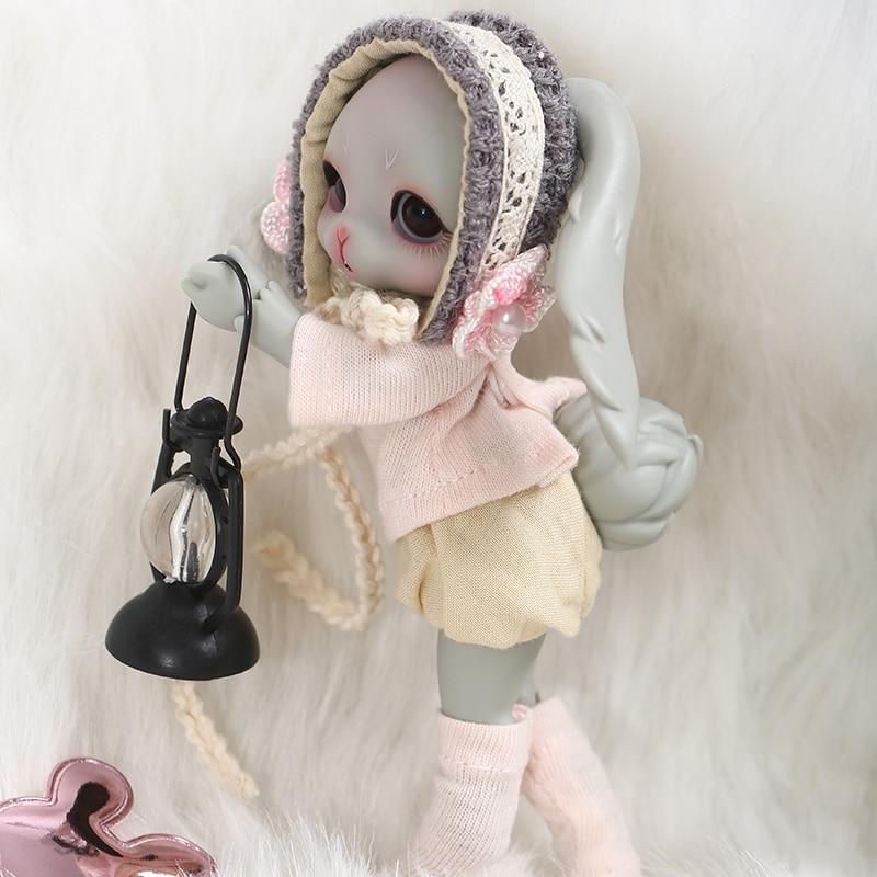 Dollsoom Leepy 1/8 Bjd YOSD ตุ๊กตากระต่ายรุ่นเด็กทารกคุณภาพสูงของเล่นวันเกิด Xmas แฟชั่นตุ๊กตา 1/3 BJD-ใน ตุ๊กตา จาก ของเล่นและงานอดิเรก บน   2