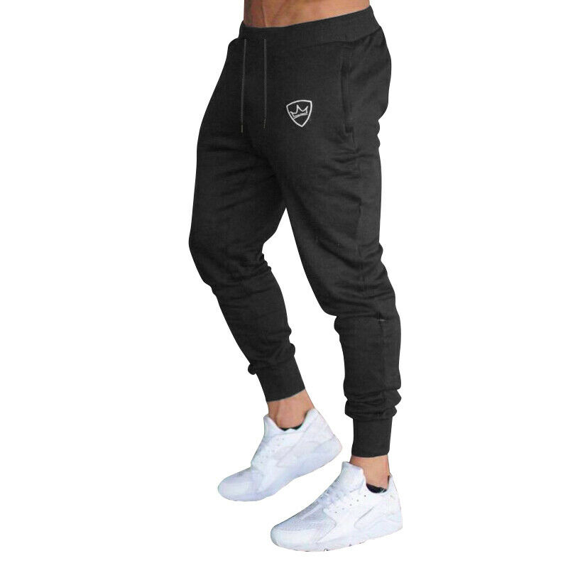2019 Cotton Men Full Sportswear Casual Elastic Mens Fitness Workout Pant Skinny Sweatpants Trousers Jogger Pants 2019