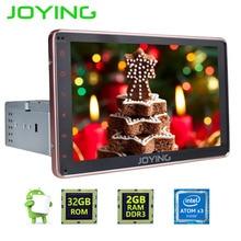 JOYING 1 DIN 8 HD touch screen Android 6 0 font b Car b font Audio