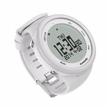SUNROAD FR852A Digital Smart Sports Men Watch -5TM Waterproof Outdoor Altimeter Compass EL Backlight Watch Reloj (White)