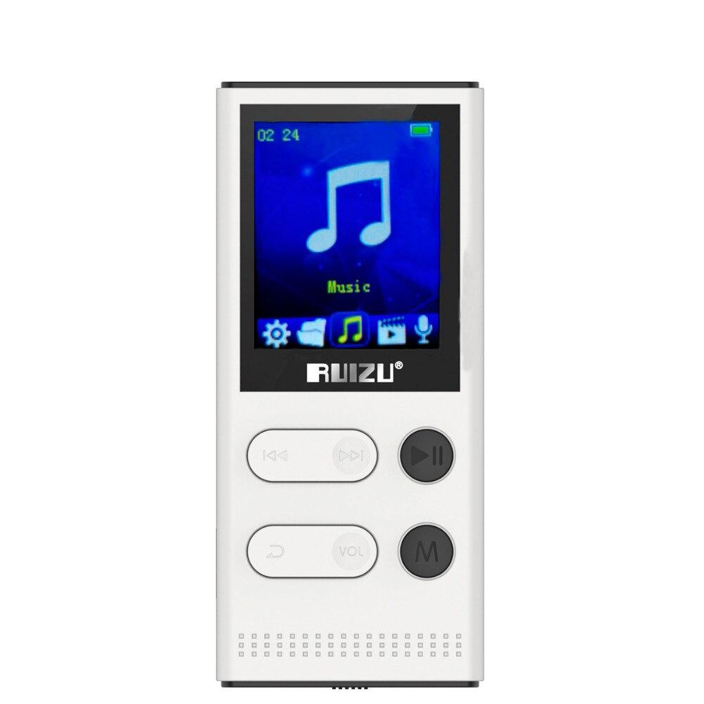 E-book Waren Des TäGlichen Bedarfs Neue Ankunft Original Ruizu X22 Mp3 Player Mit 1,8 Zoll Bildschirm Kann Spielen 80 Stunden 8 Gb Musik-player Mit Fm Radio Aufnahme