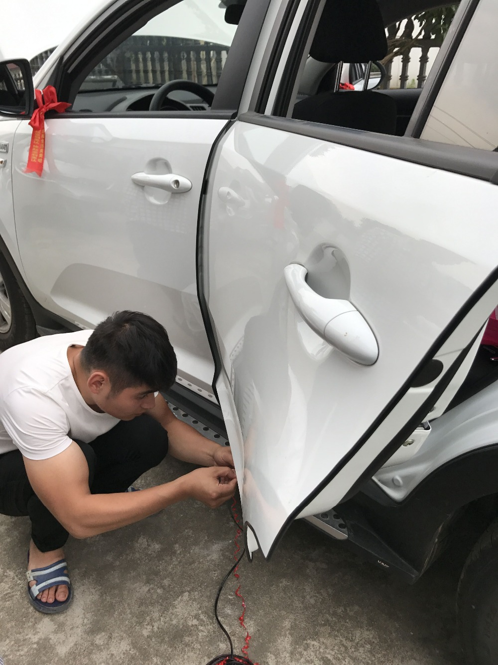 Car Styling Car Door Edge Protection Strip Moulding Stickers For Renault Duster Megane 2 Logan