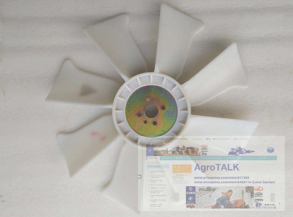 цена Yangchai 4100Q, the cooling fan for generator, tractor, part number