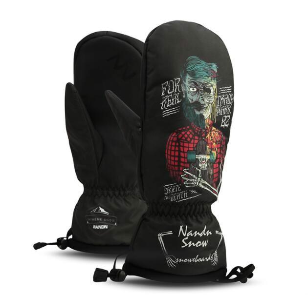 Ski Gloves Women & Men Snowboard Gloves Snowmobile Motorcycle Mittens Winter Windproof Waterproof Unisex Snow Gloves