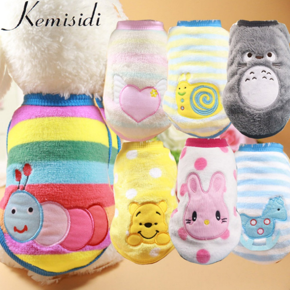Kemisidi Pet Cat Clothes Winter Dog Clothes For Small Cats Clothing Chihuahua Puppy Outfit For Fashion Dog Coat Yorkie Hoodies