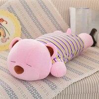 lovely sleeping music bear plush toy large 60cm bear soft throw pillow, Christmas birthday gift F029