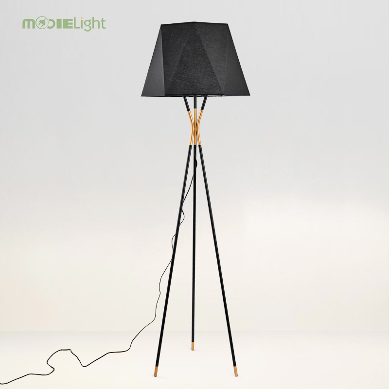 Us 189 72 49 Off Mooielight Black Floor Lamp 13309 By Usona Fashion Modern Design Lights For Living Room Country House Bar Hotel 80 260v In