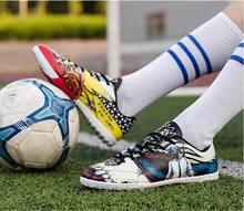 2018 Nova Indoor Futsal Futebol Botas Sapatilhas Homens Baratos Chuteiras  de futebol Superfly Original Meia de c724c22d1f078