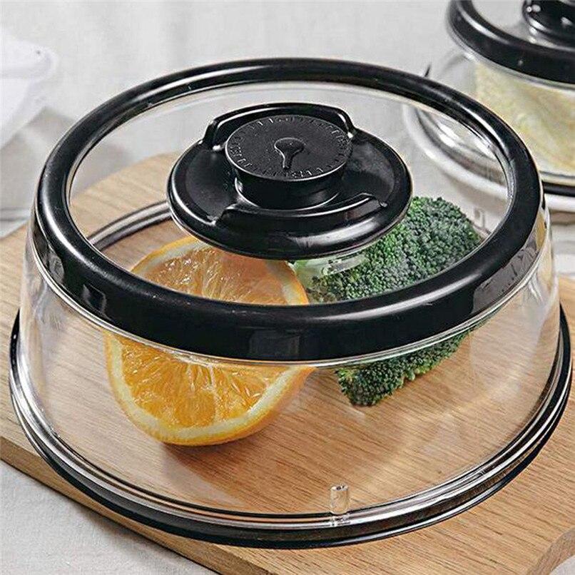 Vacuum Food Seal fresh Cover Vacuum Food Sealer Mintiml Cover Kitchen Instant Vacuum Food Sealer Fresh Cover #2H08 (3)