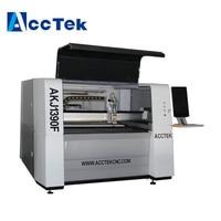 Small size 1390 low cost fiber laser sheet metal cutting machine, IPG fiber lazer cutting machine for metal