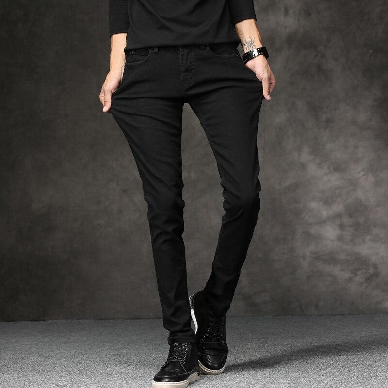 Classic Designer Denim Skinny Jeans 2
