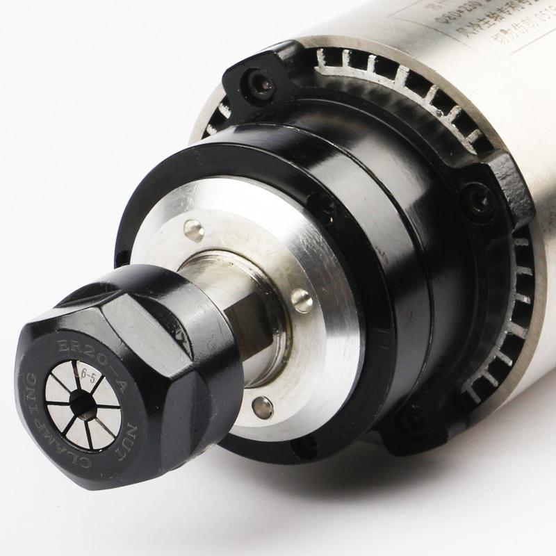 HJ marca 2.2KW 80MM ER20 24000rpm Máquina Husillo Motor Refrigerado - Piezas para maquinas de carpinteria - foto 2