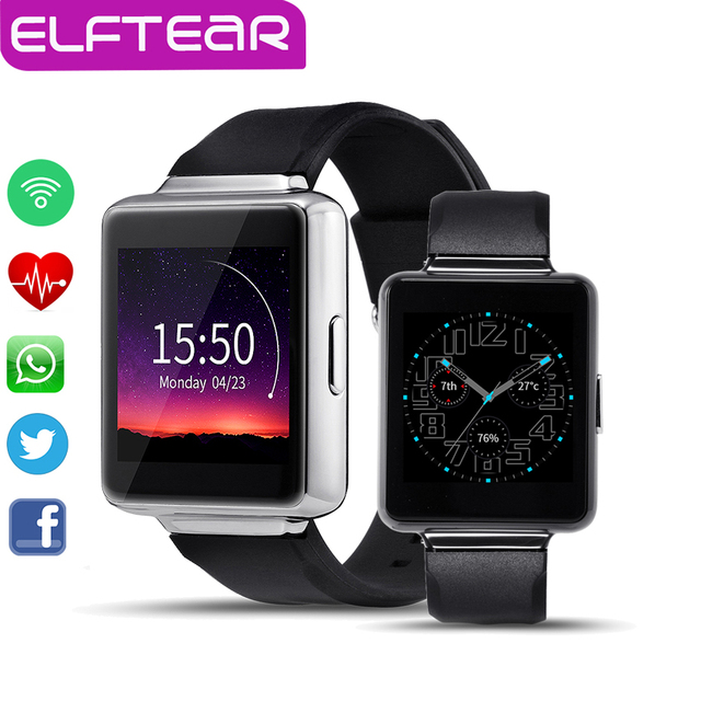 К1 Android 5.1 Bluetooth Smart Watch MTK6580 512 МБ + 8 ГБ Поддержка WI-FI 3 Г GPS Google Play Карты Smartwatch для Android-Телефон