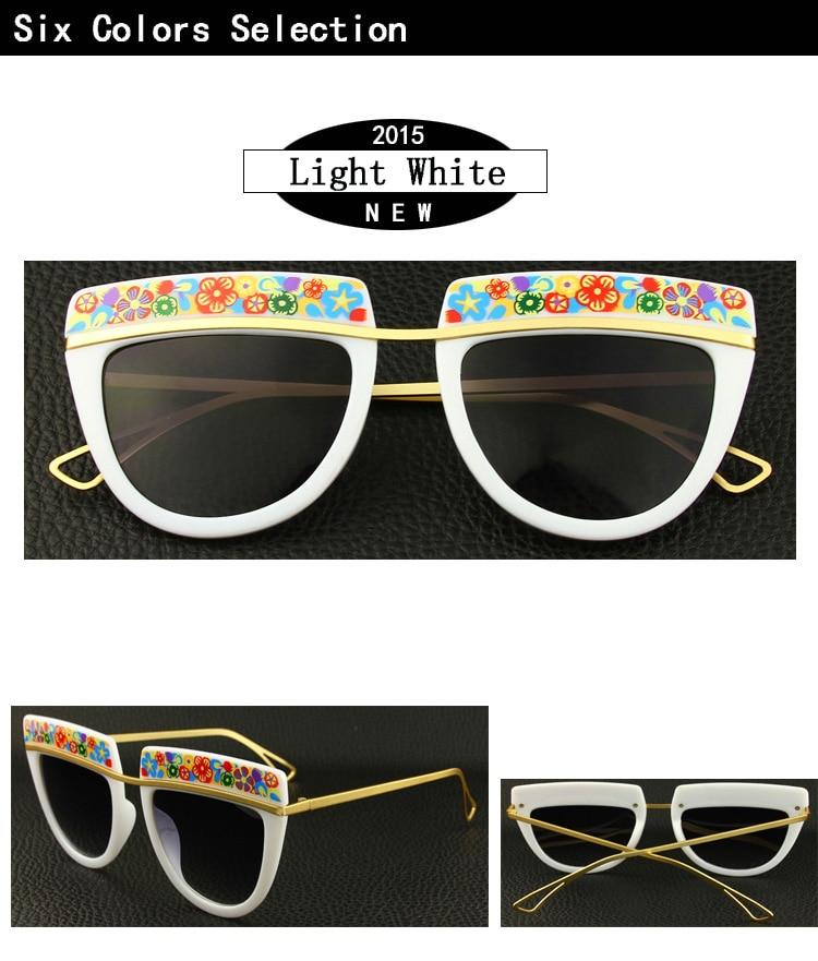 f6f9af938 ᑐVenda quente Novo Clássico Designer de Moda Da Marca Óculos De Sol ...