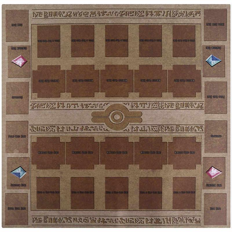 Резиновый мат 60x60 см Galaxy Стиль конкурс Pad Playmat для Yu-gi-oh карты Игровая коллекция для мальчиков и девочек подарок D4